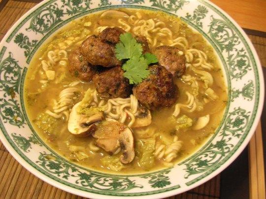 Meatball soup014